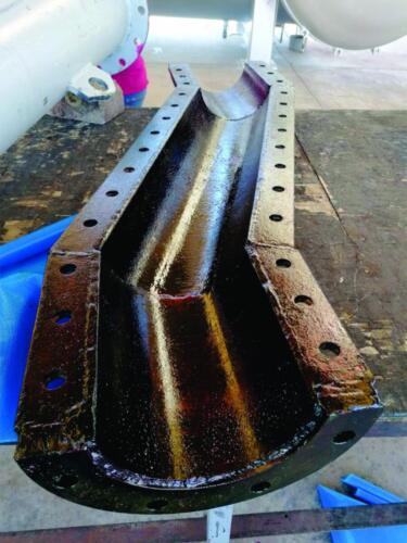 Aplicación de Cemento para Ahulado en Caliente